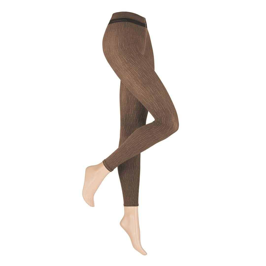 BARK Skin Leggings mit raffinierter Struktur-Optik - HUDSON