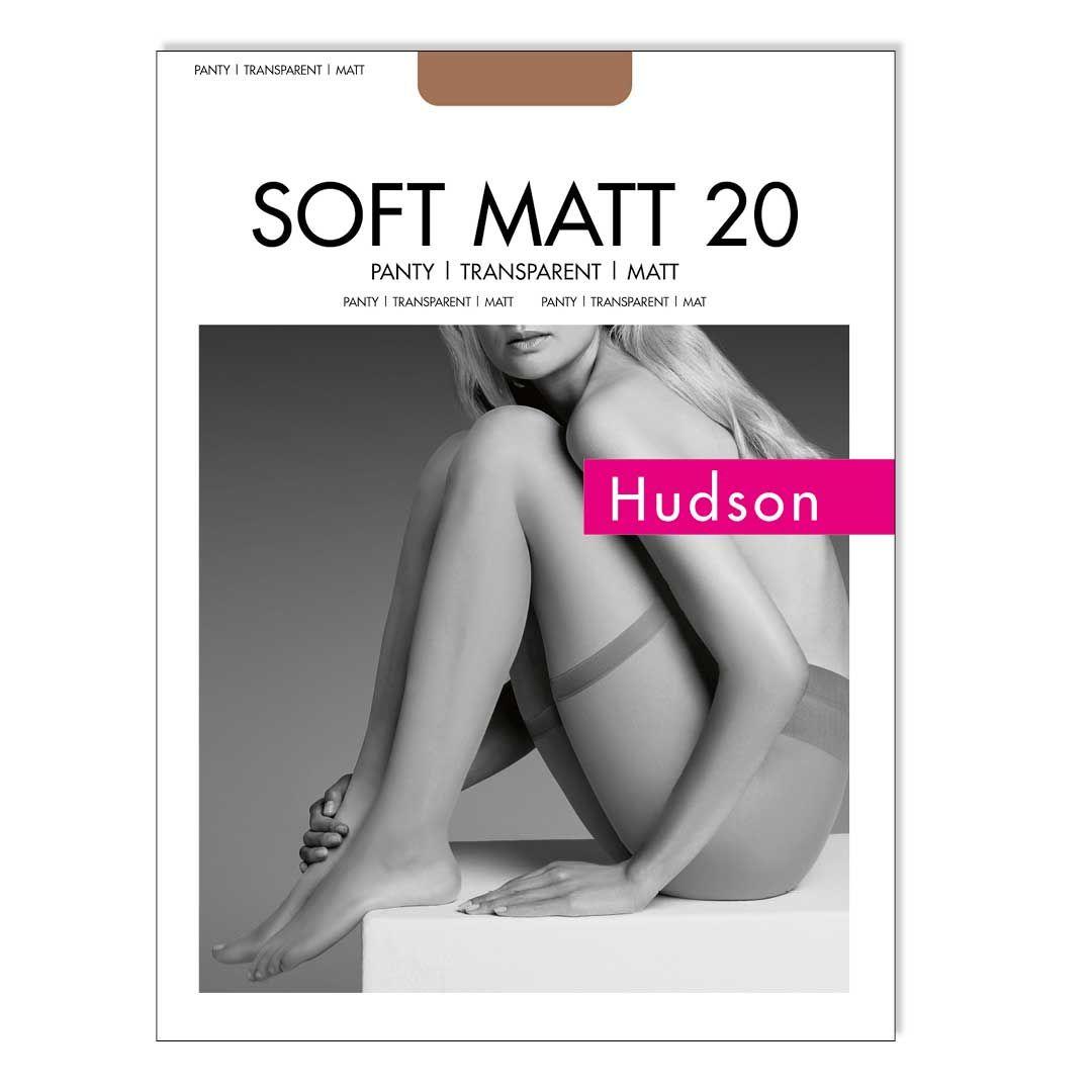 SOFT MATT PANTY 20  Strumpfpanty vermindert das aneinander Reiben der Oberschenkelinnenseiten - HUDSON