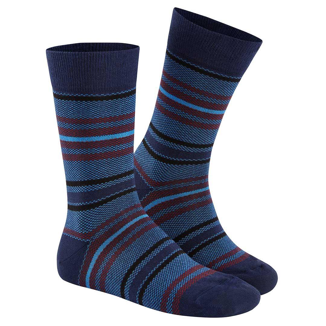 ETHNO RINGLETS  Herren Socken mit bunten Ringeln - HUDSON