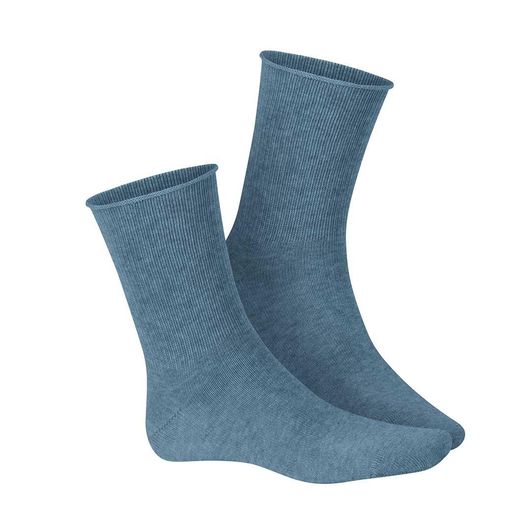RELAX SOFT  Druckfreie Socken ohne Gummifäden - HUDSON