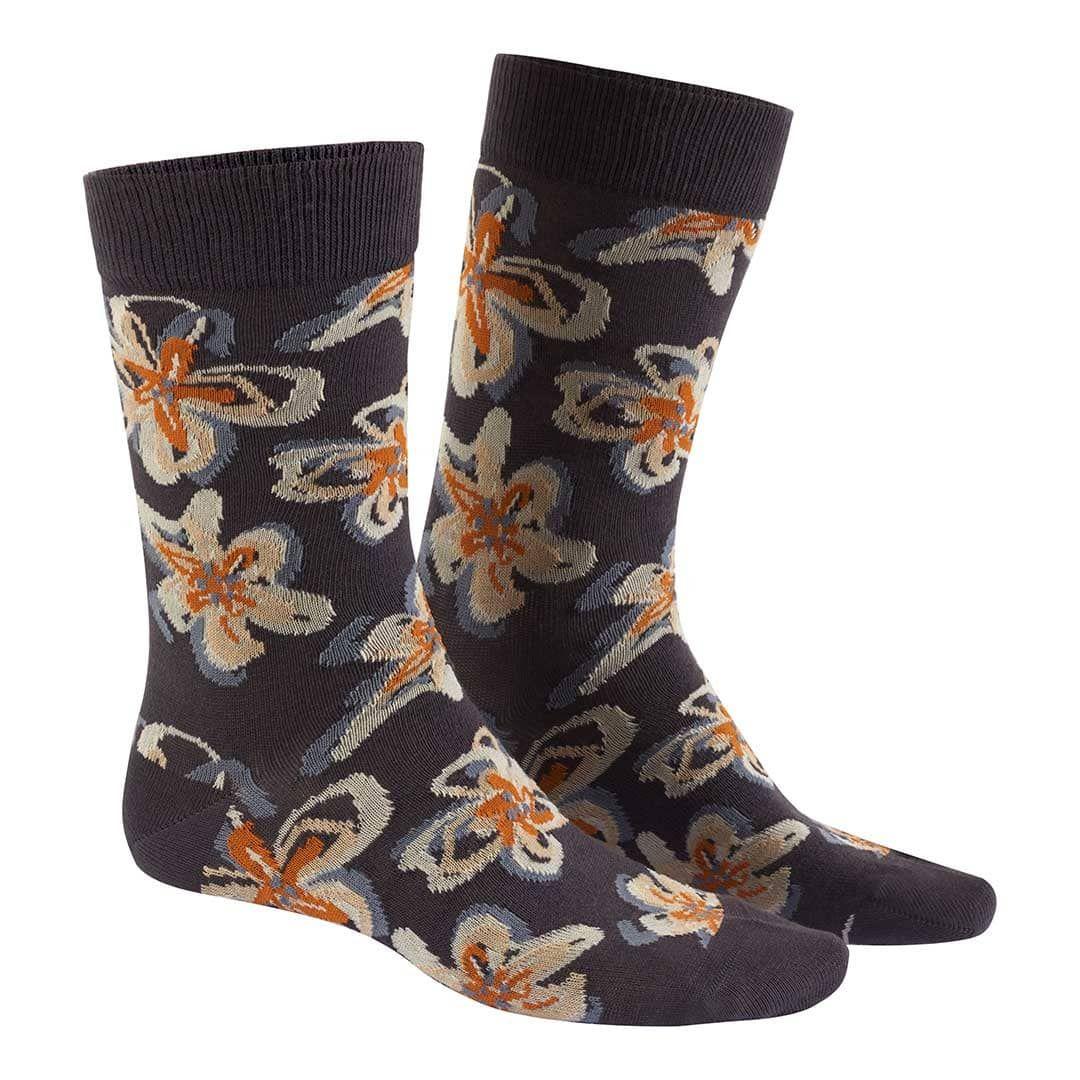 MODERN FLOWER  Socken mit modernem Blumen-Muster - HUDSON