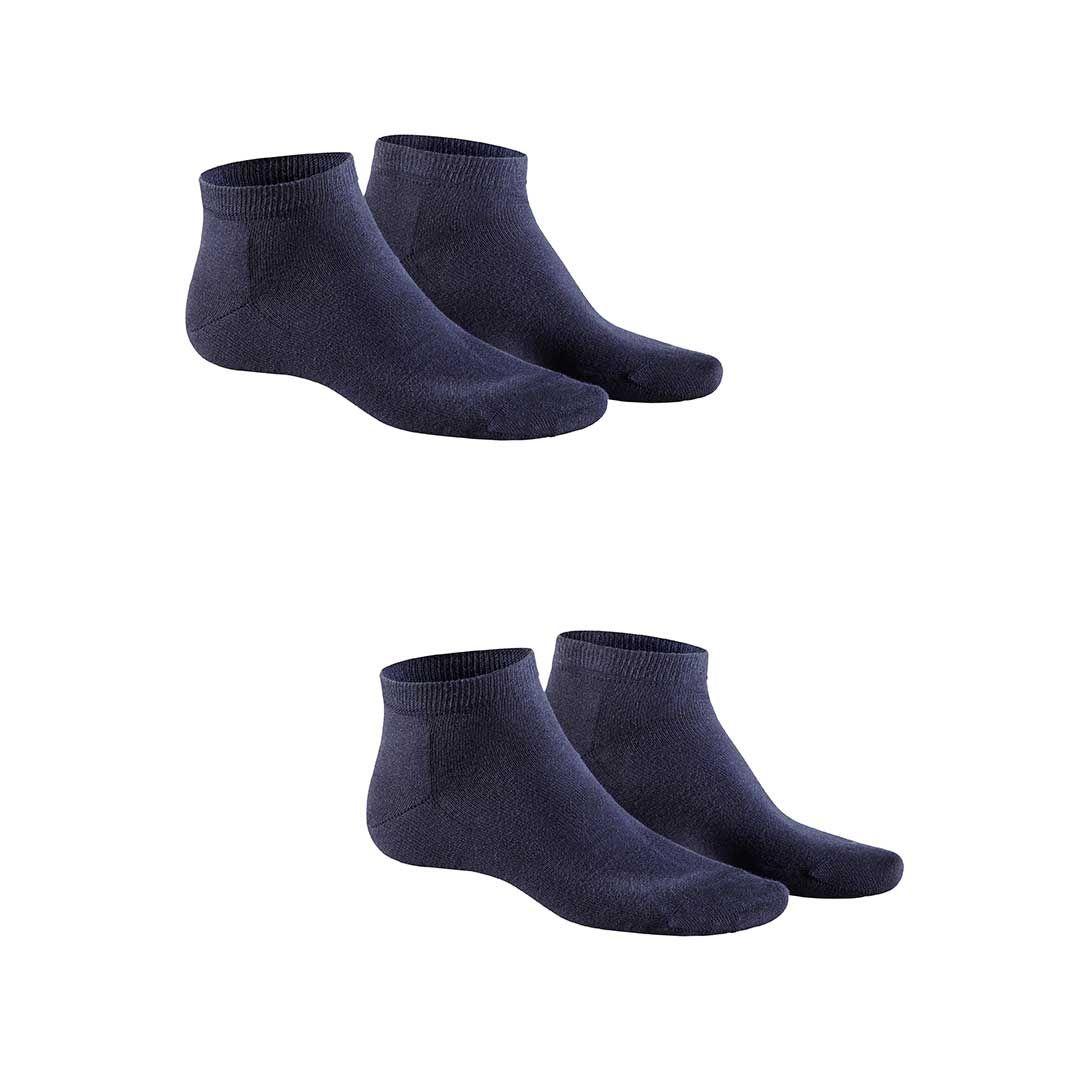 ONLY 2-PACK  Herren Sneaker Socken aus qualitativer Baumwolle im Doppelpack - HUDSON