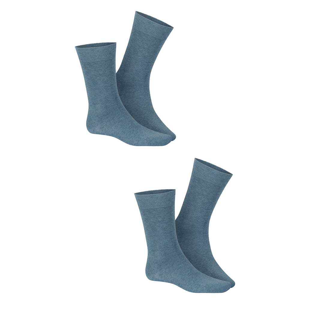 ONLY 2-PACK  Klassische Herren Socken im Doppelpack - HUDSON