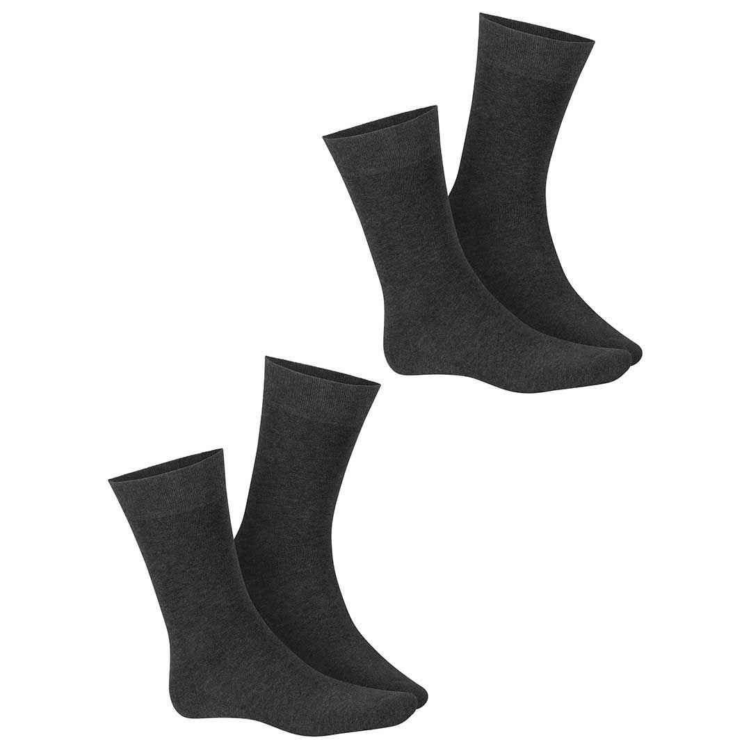 ONLY PLUSH 2-PACK  Herren Socken mit Plüschsohle im Doppelpack - HUDSON