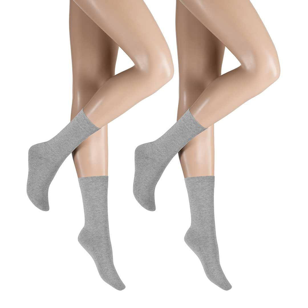ONLY PLUSH 2-PACK  Socken im Doppelpack mit Plüschsohle - HUDSON
