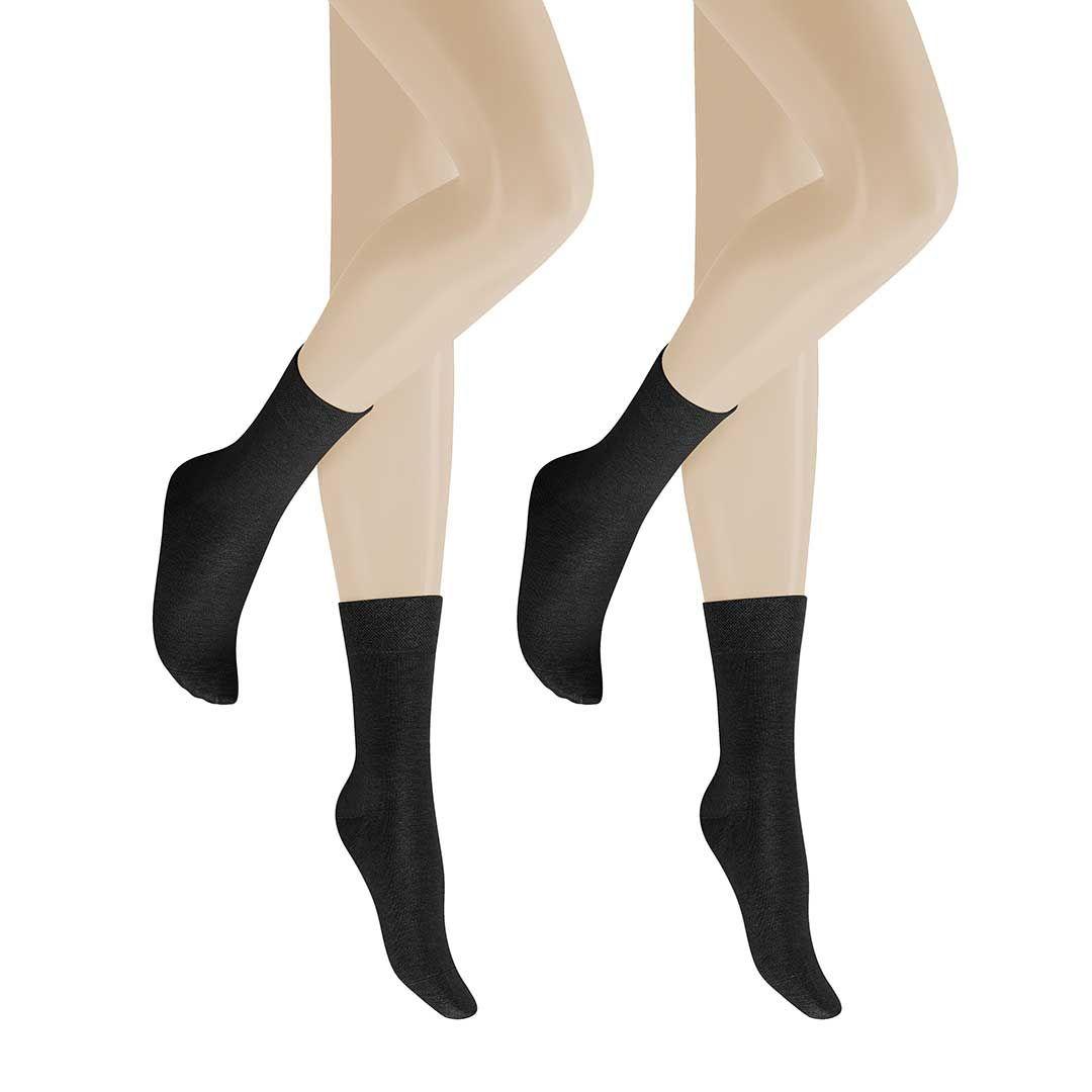 ONLY 2-PACK  Socken im Doppelpack aus hochwertiger Schurwolle - HUDSON