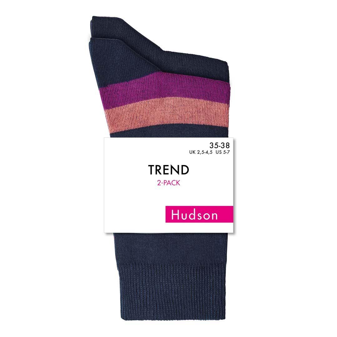 CLASSIC STRIPES  Klassischer Socken Doppelpack  - HUDSON