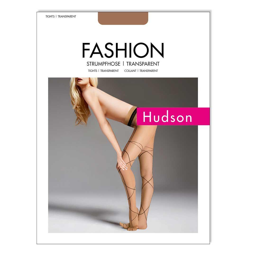CONFUSION  Strumpfhose mit raffiniert geschwungenen Linien streckt Ihre Beine - HUDSON