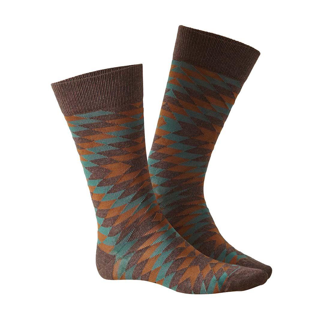 EDGE  Socken in angesagtem Ethno-Look  - HUDSON