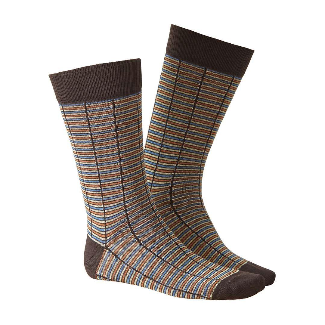 TRACE  Socken mit feiner, moderner Linien-Musterung  - HUDSON