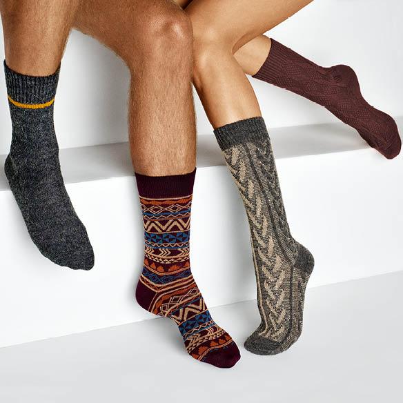 HUdson Angebote, Socken für Damen und Herren aus vergangenen Kollektion, Herbst-/Winterkollektion 2020/21