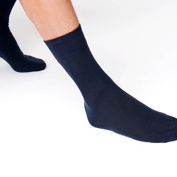 Hudson Herren Socken, in der Farbe dunkelblau oder marine, super Qualität zu einem tollen Preis